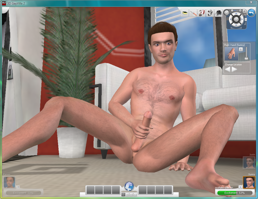 online porno in home
